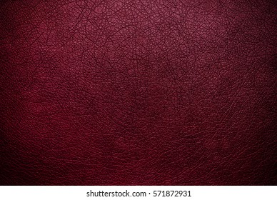 Dark pink leather texture background surface