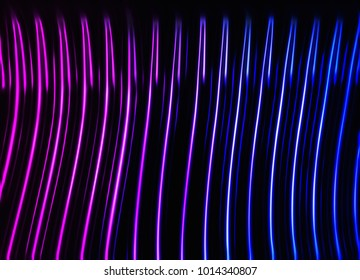 Dark pink and purple neon lights background