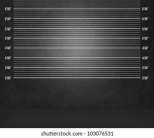 Dark Police Lineup Background