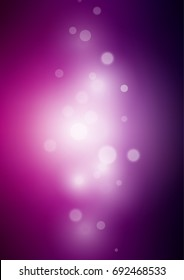 Dark Purple blurred bright pattern. Colorful illustration in abstract style with gradient. Brand-new style for your business design.