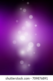 Dark Purple blurred shine abstract pattern. An elegant bright illustration with gradient. A new texture for your design.