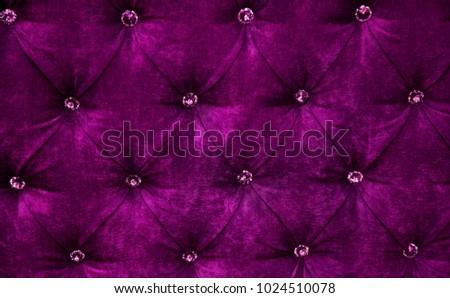 Dark Purple Diamond Pattern Velvet Upholstery Stock Photo Edit Now