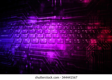 dark purple red color Light Abstract Technology background for computer graphic website internet and business. circuit. illustration. digital. infographics. binary code background.