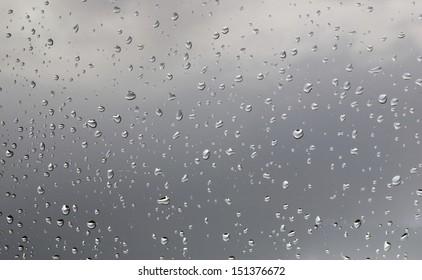 Dark Rain Drops
