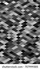 Dark Silver, Gray abstract colorful background, which consist of triangles. Pattern with colored triangles on white background.