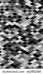 Dark Silver, Gray geometric simple minimalistic background, which consist of triangles on white background. Triangular pattern with gradient for your business design.