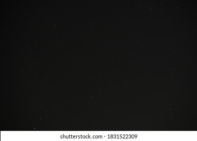 Dark starry night sky background