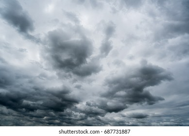 dark storm clouds,clouds with background,Dark clouds before a thunder storm.
