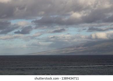 Dark Sunrise Lanai Maui Ocean View Lanai View Paradise Dramatic