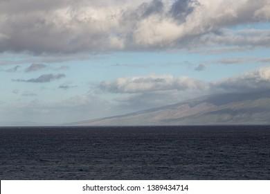 Dark Sunrise Lanai Maui Ocean View Lanai View Paradise Dramatic 2