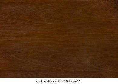 Dark Teak Wood Brown Grain Texture Background. Nature Grunge Pattern Wooden  For Decoration