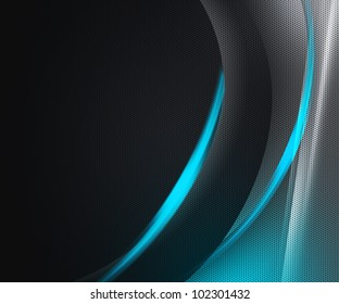 Dark Tech Abstract Background