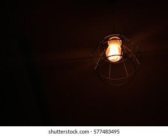 dark tone of light in the dark
