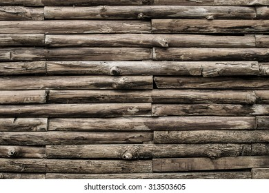 dark tone old wood wall texture and background