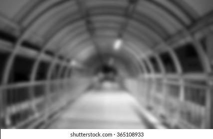 Dark tunnel.