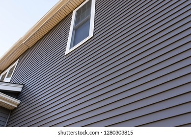 dark vinyl siding, real estate background