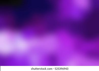 Dark violet smoke abstract background. Purple clouds blurred texture.