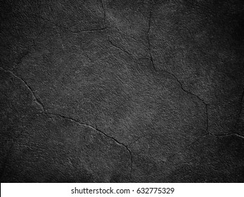 A dark wall black texture for background