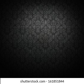 dark wallpaper for background; baroque style.
