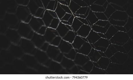Dark Wire fencing
