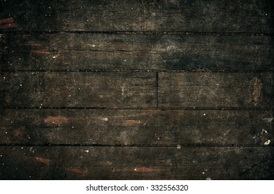 Dark wood background.