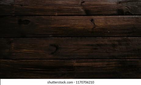 dark wood board background