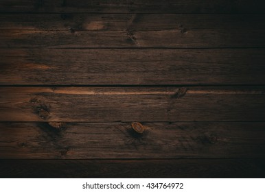 dark wood board use for background. Old wooden planks