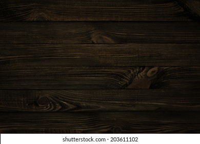 dark wood texture, black background