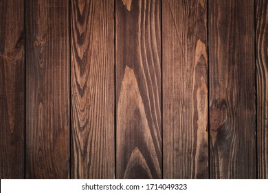 dark wooden background. natural wood with a prominent texture.