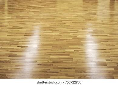 dark wooden dance floor with spot lights