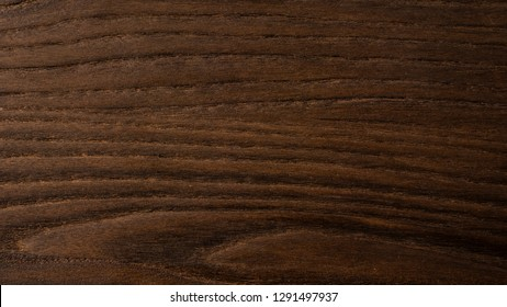 Dark wooden grain, close up