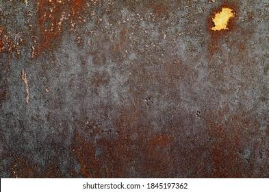 Dark worn rusty metal texture background - Shutterstock ID 1845197362