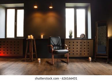 Darken loft interior
