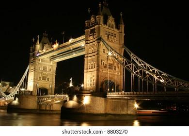 Darker version of Night Tower Bridge