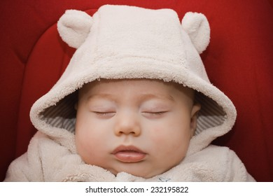 Darling baby boy sleeping
