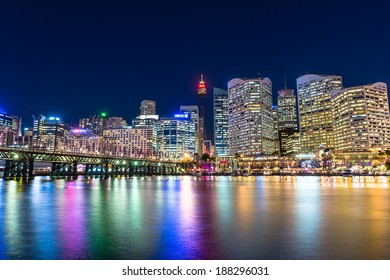 Darling Harbour is a city center of Sydney