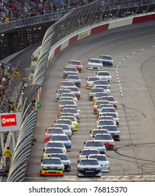 DARLINGTON, SC - MAY 07, 2011:  Darlington Raceway plays host to the Showtime Southern 500 race in Darlington, SC on May 07, 2011.