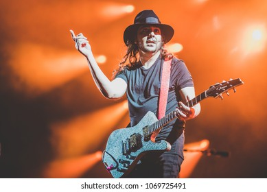 Daron Malakian from System Of A Down performs in concert at Rock im Park festival on June 3, 2017 in Nuremberg, Germany