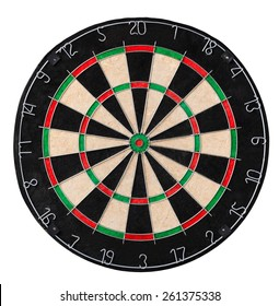 Dart board. Close up picture