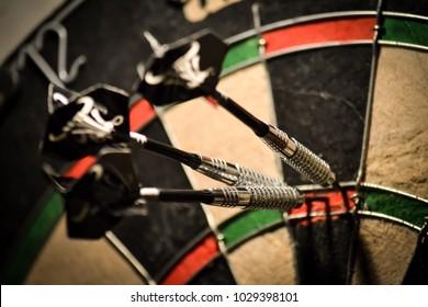 Dartboard 180 score