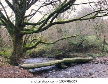 Dartmoor clapper bridge