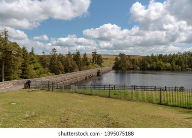 Dartmoor National Park, Devon, England, UK. May 2019, The Venford Reservoir near Holne on Dartmoor.
