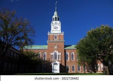 Dartmouth College scenery in fall