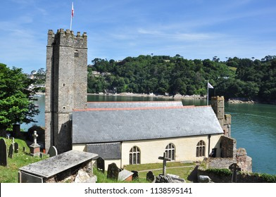 DARTMOUTH, DEVON/UK - June 24, 2018. St Petrox Church, Dartmouth, South Devon, England