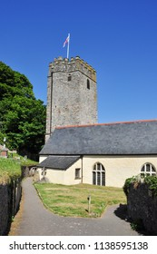DARTMOUTH, DEVON/UK - June 27, 2018. St Petrox Church, Dartmouth, South Devon, England