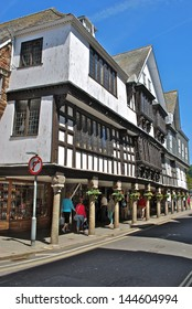 Dartmouth - Half Timbered Shop Front