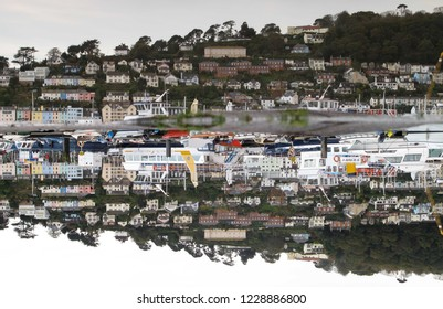 Dartmouth harbour reflection