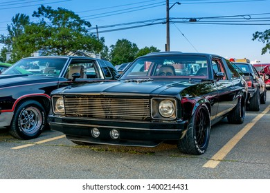 Dartmouth, Nova Scotia, Canada - August 16, 2018 : 1978 Chevrolet Rally Nova at weekly A&W Cruise-In, Woodside Ferry Terminal parking lot, Dartmouth, Nova Scotia.