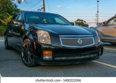 Dartmouth, Nova Scotia, Canada - August 16, 2018 : 2007 Cadillac CTS at weekly A&W Cruise-In, Woodside Ferry Terminal parking lot, Dartmouth, Nova Scotia.