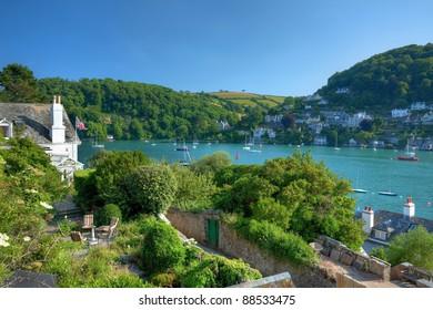 Dartmouth in Summer, Devon, England